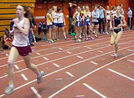 tully runners indoor track meet