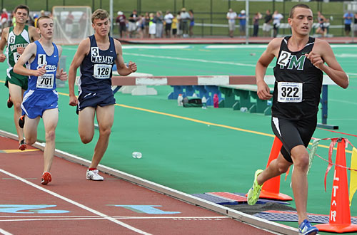 dan lennon track meet 2012 results